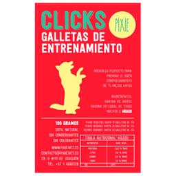 Galletas de Entrenamiento Pixie Clicks 100 g