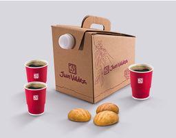 Combo Caja Cafetera y Pandebonos