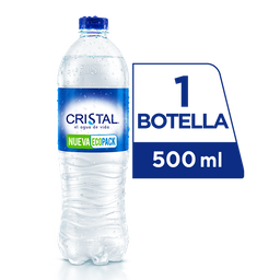 Agua Cristal sin Gas 500 ml