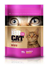 Galletas Para Gato - Br Equilibrio 60 Gramos