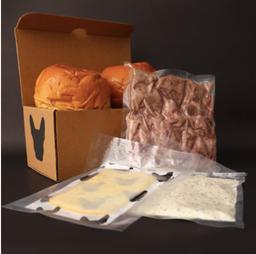 Kit Burgers + Vino Merlot