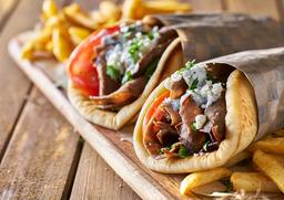 Combo Doble Shawarma Khalifa