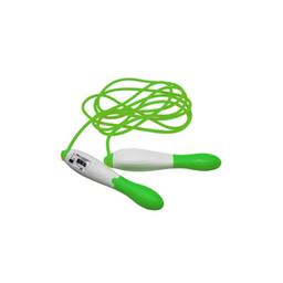 Lazo para saltar con contador color verde