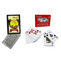 Set de cartas de Poker y Naipe Español