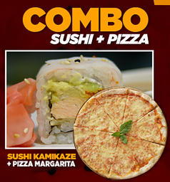 Combo Kamikaze & Pizza Margarita