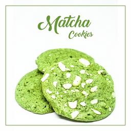 Matcha Cookie Almendras