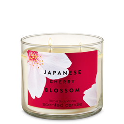 Vela 3 Mechas Japanese Cherry Blossom