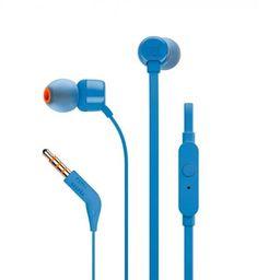 Audífonos Manos Libres Jbl T110 In-ear Cable 3.5mm Azul