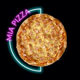 Pizza Jamón y Queso Pequeña