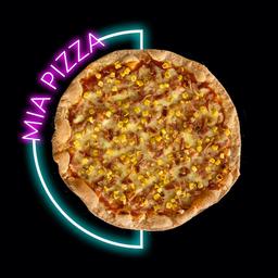 Pizza Maiz y Tocineta Pequeña