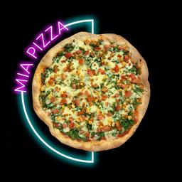 Pizza Vegetales Asados Pequeña