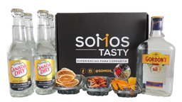 Gordon´S Tonic Con Tónica Canadra Dry 7 Cócteles
