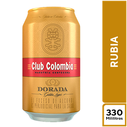 Club Colombia Rubia 330 ml