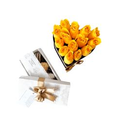 Caja Romance Small + Caja de Fresas Premium