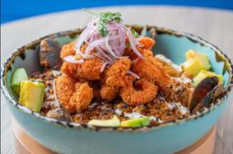 Arroz frito del caribe
