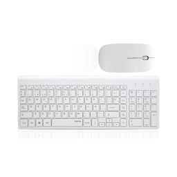 Teclado Con Mouse 2.4Ghz Wireless Combo Rf 368