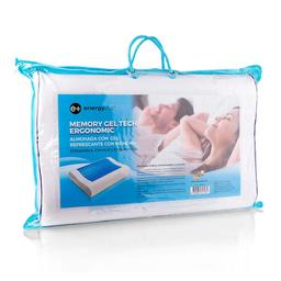 Almohada Energy Plus Gel Refrescante Ortopédica Con Memoria