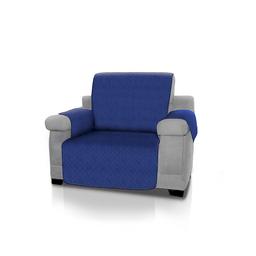 Cubre Sofá Energy Plus de 1 Puesto Reversible Azul