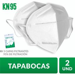 Tapaboca alta eficiencia KN95  Lvjian  Bolsa 2 und