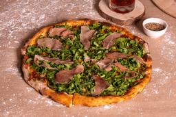 Pizza con Jamón Serrano