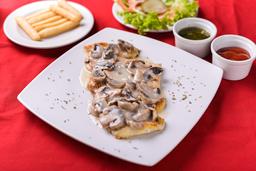 Filete de Pollo Champiñón
