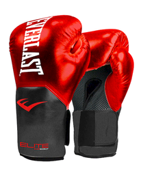 Guante Box Elite Rojo Foil 10 Oz