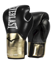 Guante Box Elite Black/Gold 14 Oz