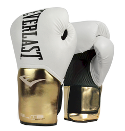Guante Box Elite White/Gold 14 Oz