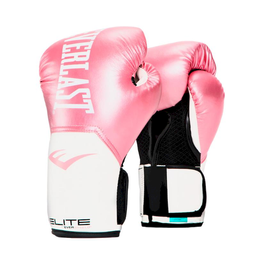 Guante Box Elite Pink/White 14 Oz