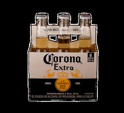 Cerveza Corona Six Pack 6 U
