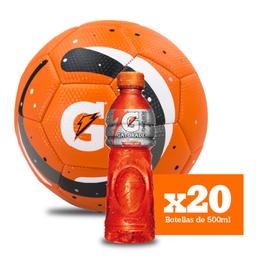 Combo Gatorade Frutos Tropicales X20 + Balón Gratis