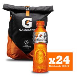 Combo Gatorade Mandarina X24 + Maleta Gratis
