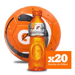 Combo Gatorade Mandarina x20 + Balón GRATIS