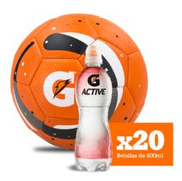 Combo G Active Fresa x20 + Balón GRATIS