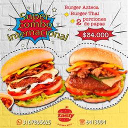 Combo 2 Burger Internacional