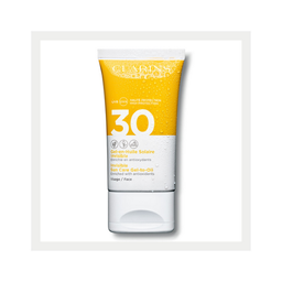 Protector Solar Clarins Gel-Aceite Invisible Spf 30 50 mL