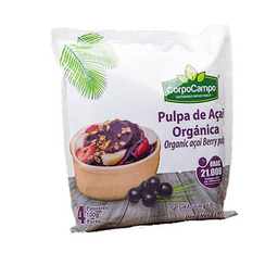 Pulpa Acai Plaza Gp 400 g