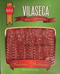 Salami Vilaseca Tipo Italiano Con Pimienta 125 g