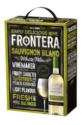 Vino Blanco Sauvignon Blanc Frontera Bib
