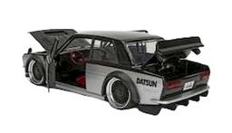 Coche a Escala Datsun 510 1973 Negro