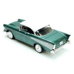 Coche a Escala Chevy Bel Air 1957 Verde