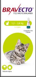 Bravecto Spot On Cat (Pipeta)1.2-2.28 K