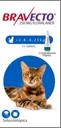 Bravecto Spot On Cat(Pipeta)2.8 - 6.2 K