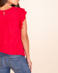 Camisa Lyon Rojo Rubi