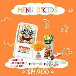 Menú O'Kids