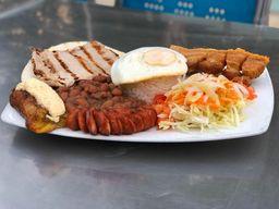 Promoción 2 platos tipicos de cerdo