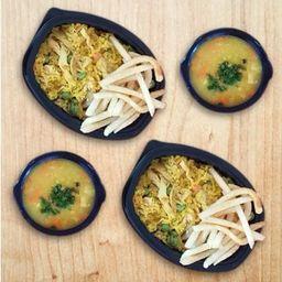 Combo Arroz Pollo y Sopa