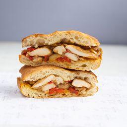 Combo Sándwich Philadelphia Chicken