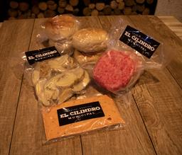 Carne Hamburguesa Angus Congelada