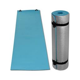 Colchoneta de fitness, yoga color azul